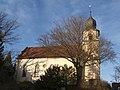 Bad Rappenau - Bonfeld - Evangelische Kirche - Ansicht von Süden im Winter.jpg