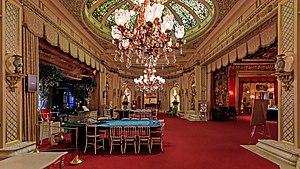 Kurhaus of Baden-Baden - One of the halls of the Casino.
