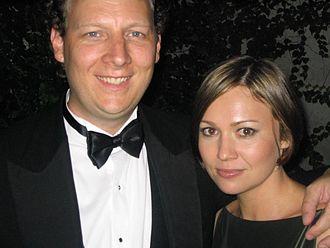 Dan Bakkedahl - Bakkedahl with his wife, Irene, at the 2008 Emmy Awards