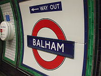 Balham station Northern line roundel.JPG
