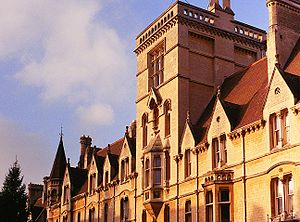 Balliol College, Oxford - The front of the college in Broad Street.