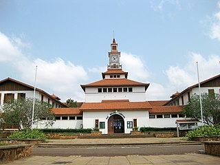The Balme Library Main library in the University of Ghana