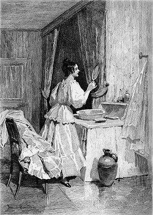 Eugénie Grandet - Illustration from an 1897 edition  by Daniel Hernández