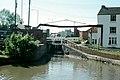 Banbury Lock and lift bridge, 1977 - geograph.org.uk - 1611951.jpg