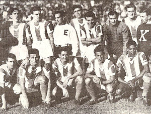 Club Atlético Banfield - The 1946 Banfield squad that won the Segunda División title.
