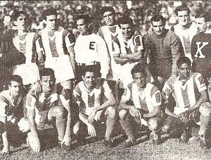 Club Atlético Banfield - The 1946 Banfield squad that won the Segunda División title.