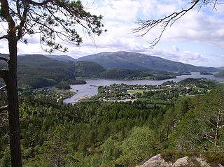 Namdalen traditional region in Trøndelag, Norway