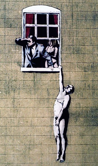 artist reflection on banksy