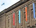Banners at NLS George IV Bridge building 2013.jpg