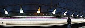 Sant Martí (Barcelona Metro) - Image: Barcelona Metro Sant Marti