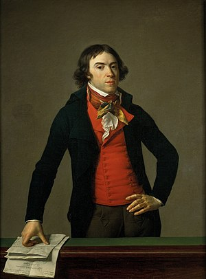 Bertrand Barère - Portrait of Barère by Jean-Louis Laneuville (1794)