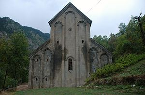 Parkhali - The eastern side of the church.