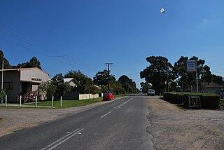 Barwon Downs Town in Victoria, Australia