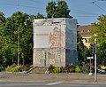 Basel - Strassburger Denkmal eingerüstet (2014).jpg