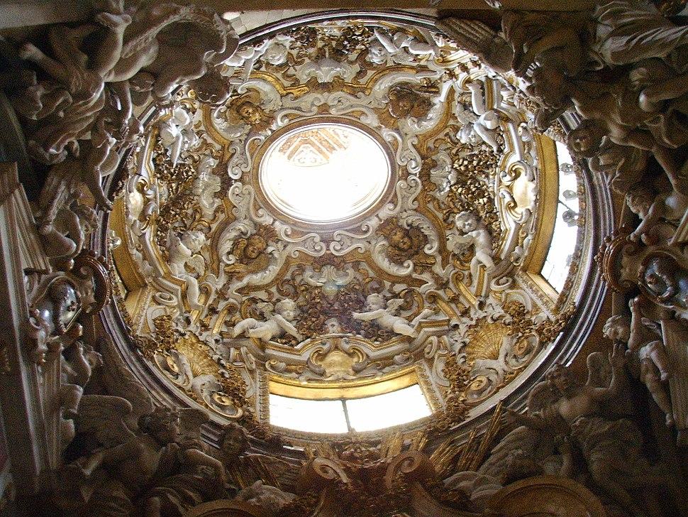 Basilica della santissima annunziata, Cappella di San Giuliano o di San Giuseppe, cupola