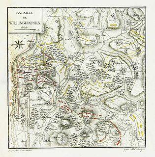 Battle of Villinghausen 1761 battle