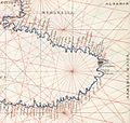 Battista Agnese. Black Sea. HM 25. PORTOLAN ATLAS Italy, ca. 1540.F.jpg