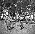 Beëdiging van de militairen Cordesius en Walraven tot 1ste luitenant in kamp Mo…, Bestanddeelnr 255-8290.jpg