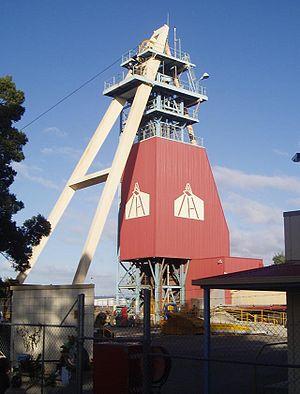 Beaconsfield Mine.