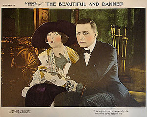 Warner Bros. - Lobby card from The Beautiful and Damned (1922)