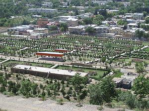 Neighborhoods of Kabul - A family park in the Bibi Mahro neighborhood