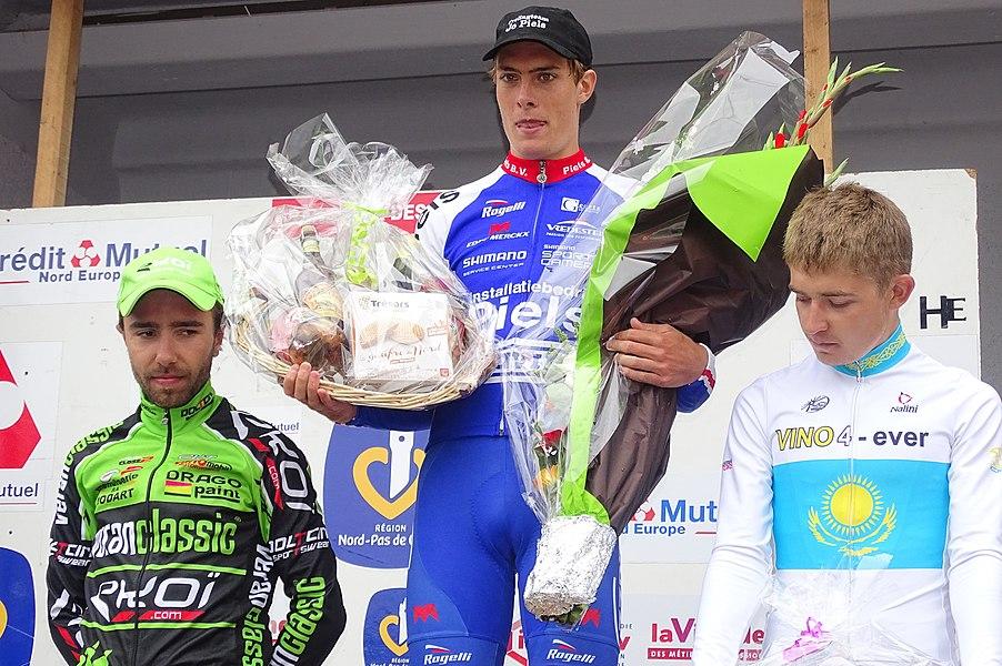 Reportage réalisé le mardi 25 août à l'occasion du départ et de l'arrivée du Grand Prix des Marbriers 2015 à Bellignies, Nord-Pas-de-Calais, France.