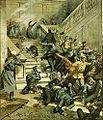 Beltrame, Achille. Massacre at Tiflis City Council building, October 15, 1905..jpg