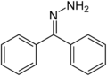 Benzophenone hydrazone-structure.png