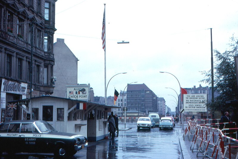 Christian Dalera - Checkpoint Charlie 1963