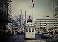 Berlin Checkpoint Charlie & Russian Border Guard (9812924845).jpg