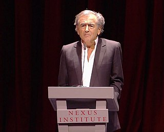 Bernard-Henri Lévy French film director and philosopher