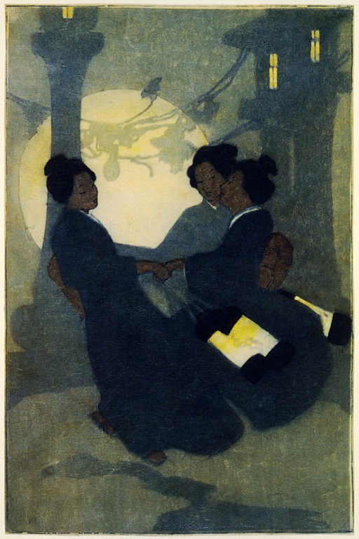 Bertha Boynton Lum, Fox women, 1908