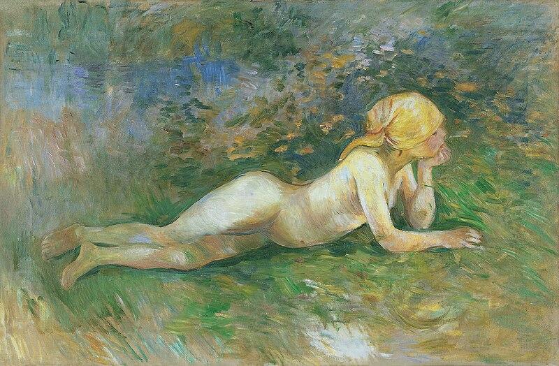 File:Berthe Morisot - Bergère nue couchée.jpg