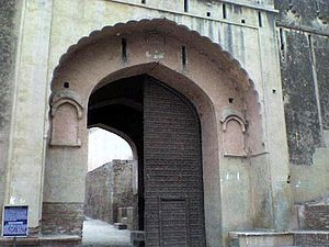 Bhatner fort - Entrance to the fort