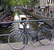 An Amsterdam bike
