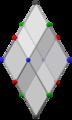 Bilinski dodecahedron, ortho matrix.png