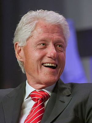 Clinton Foundation - Former U.S. President Bill Clinton