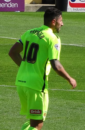 Billy Paynter - Paynter playing for Hartlepool United in 2015