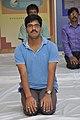 Binay Kumar Dubey in Vajrasana - Kolkata 2017-06-21 2401.JPG