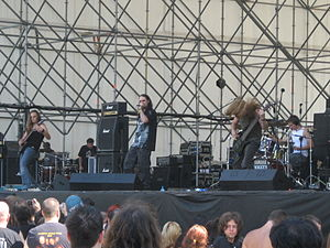 Biomechanical (band) - Biomechanical at Rockin' field festival, Milan, Italy (26 July 2008)