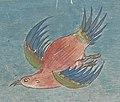 Bird in Tibetan art, Or Tibetan 114 - Bloodletting chart, Tibet Wellcome L0074749 (cropped).jpg