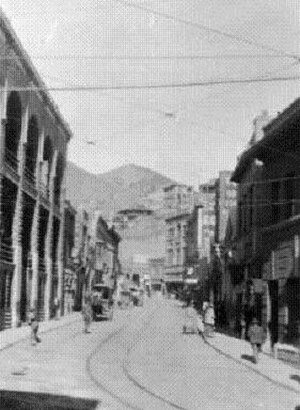 Bisbee Riot - A photograph of Brewery Gulch in the 1910s.