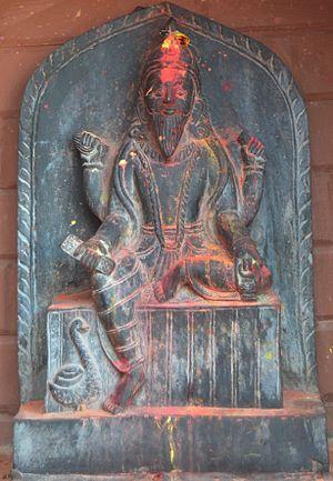 Vishvakarman - Bishowkarma Statue