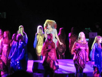"""Isobel (song) - Björk performing """"Isobel"""" as part of the Biophilia Tour, at the Cirque en Chantier on 24 February 2013"""