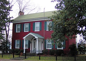 McMinnville, Tennessee - The Black House