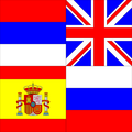 Block of flags of Serbia, UK, Spain, and Russia.png