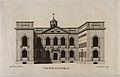 Blue Coat Hospital, Liverpool, Merseyside. Line engraving by Wellcome V0012843.jpg