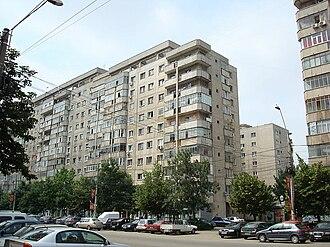 Berceni, Bucharest - Image: Blvd C tin Brancoveanu