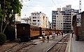 Boarding the train to Sóller, Palma. (37240318112).jpg