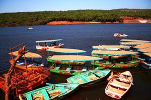 Venna Lake - Boats